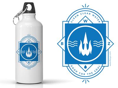 WBZ water bottles
