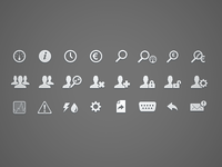 Icons for Energy Management Application