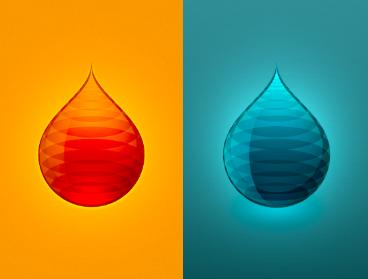 Wich drop? drop fuel color gasoline gas oil