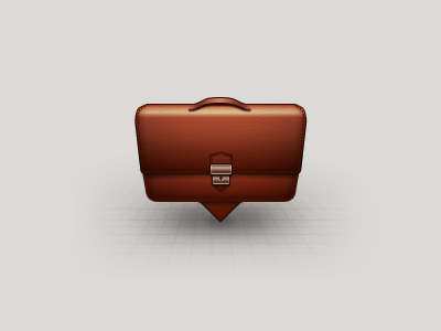 Find Business icon  business icon logo find search fake leather map pin briefcase