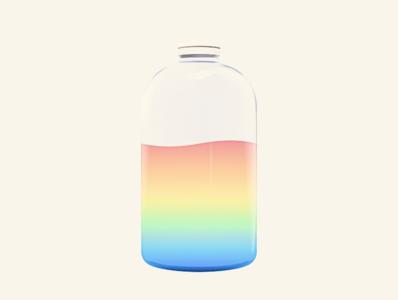 Piiika App rainbow color