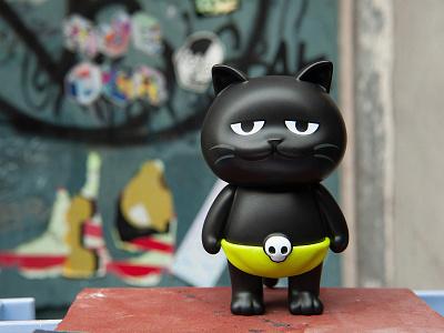 Aiwanju Toy product design branding toy design cat mascot character