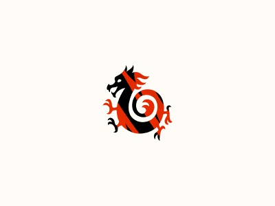 Fire Dragon dragon fire branding design logotype logo