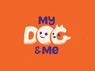 My Dog & Me pet training center dog logo