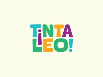 TintaLeo books bookstore logotype kids typography logo
