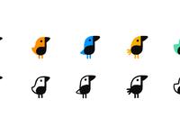 Music bird bg