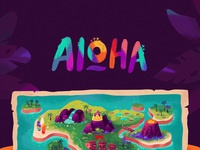 Aloha tiki color