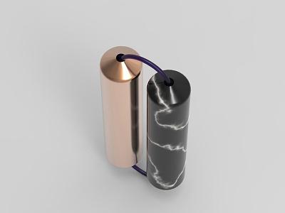 Rollers didgets. focus adhd add product design industrial design design marble copper fidget rhino 3d renders
