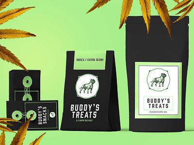 BUDDY: Cannabis Dispensary Pt 2 identity graphicdesign naturopathy herbal modern packaging marijuana retail design branding cannabis