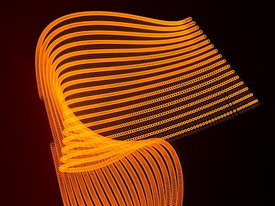 Light Art 3d canada cinema4d designer toronto neon lightart art cgi graphicdesign digitalart