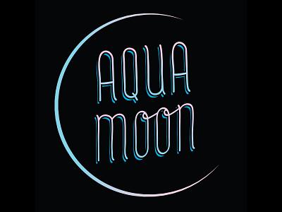Aqua Moon Etsy Store Logo