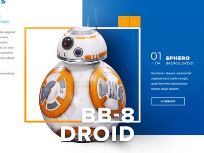 Star wars Market checkout droid bb-8 market star wars