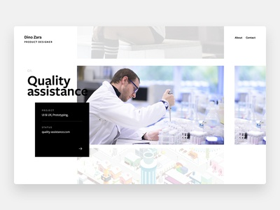 2018 Portfolio website webdesign ui web minimalist portfolio
