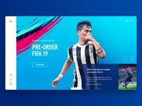 Fifa '19 Landing Website