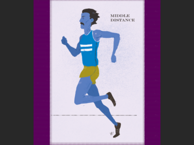 Middle Distance Runner