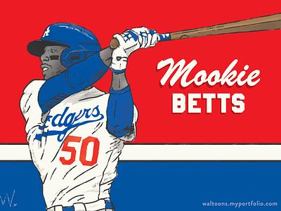 Mookie Betts sports marketing mookie betts sports illustration sports illustration