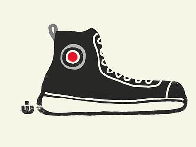 A Sneaker sneaker art shoes sneakers cartoon illustration illustration high tops cartoon sneaker basketball shoe shoe sneaker