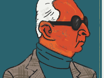Roger Stone Caricature