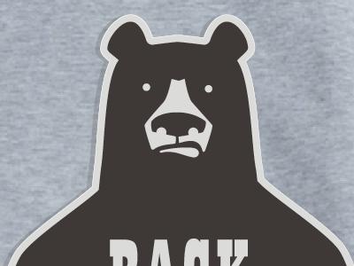 BACK OFF! Bear