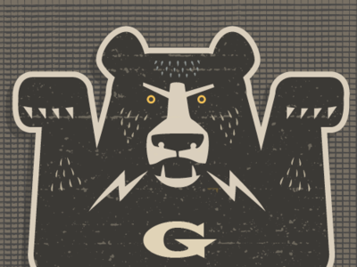 GRRR! Bear Sticker