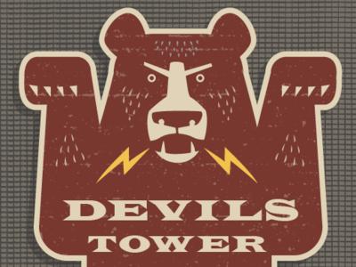GRRR! Bear: Devil's Tower