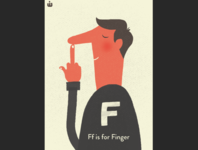 F is for FINGER