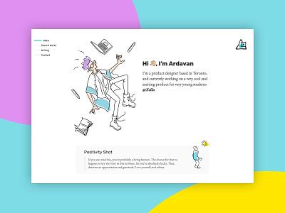Portfolio Update website webdesign branding ui logo uid ixd interaction design