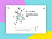 Portfolio Update website webdesign branding ui logo uid ixd interaction design