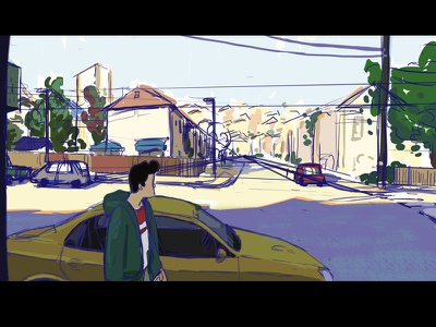 Remember WIP lighting colour style shot film remember dawn suburbs