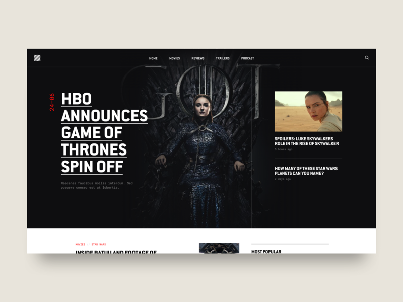Blog Hero - Nerd Culture Magazine conduit nerdy game of thrones desktop hero blog