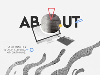 Kasra Design - 2018 Website space retro kasra design modern design animation company award winning website typography