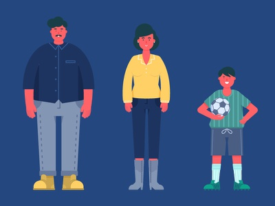 Free Characters (3 Sets) by Kasra Design creative common creative commons explainer video character animation free to use free illustration free character ai illustration character freebies freebie