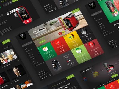 web Concept Coffee