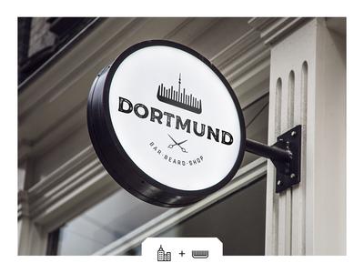 Logo for Dormund Barbershop