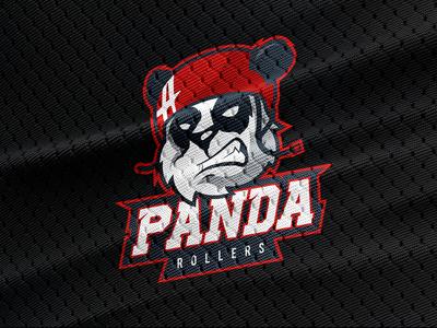 Logo concept Panda rollers