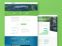 Responsive Desktop Redesign for US Energy Recovery