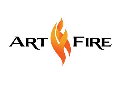 ArtFire Logos (2015, 2010, 2008) identity branding logo