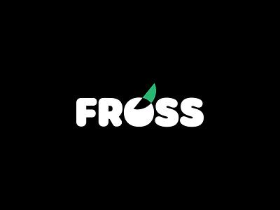 FROSS Snack logotype icon design logo