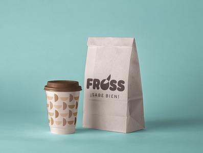 FROSS Logotype brand identity typography brand graphicdesign design logo logotype