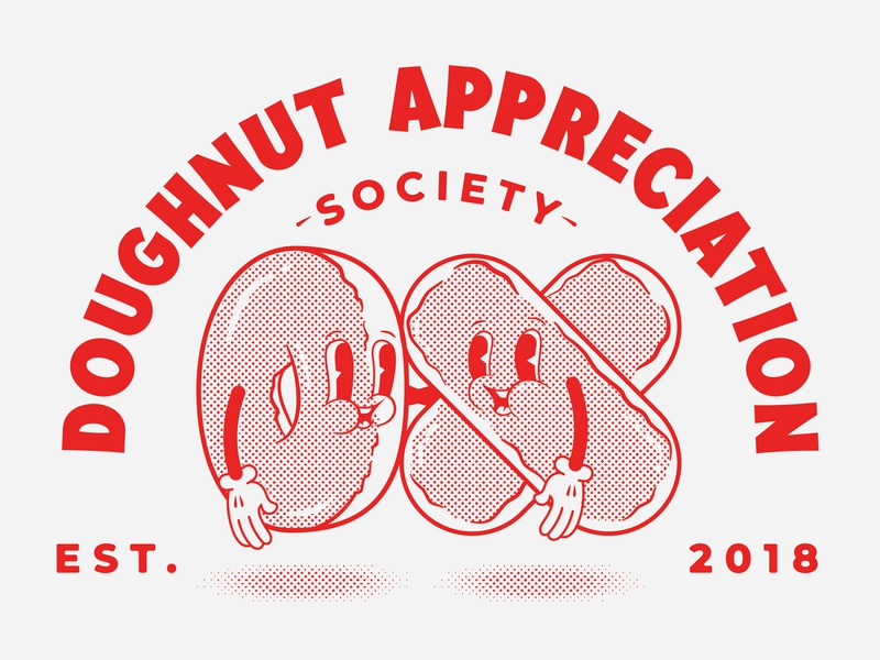 Doughnut Appreciation 01 illustrator vector art illustrate designer typography graphic design design illustration