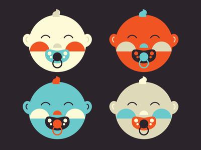 Babies vector illustration vector vector art illustrate designer art design illustrator graphic design illustration