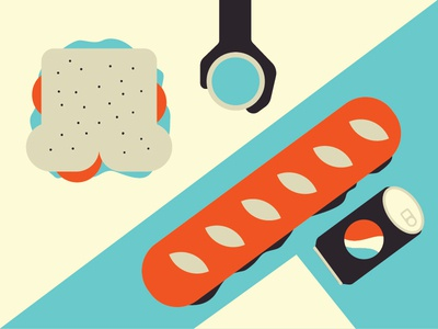 Community Lunch vector vector art illustrate designer art design illustrator graphic design illustration