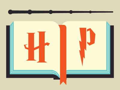 Harry Potter Audio Books vector illustration vector vector art illustrate designer art design illustrator graphic design illustration