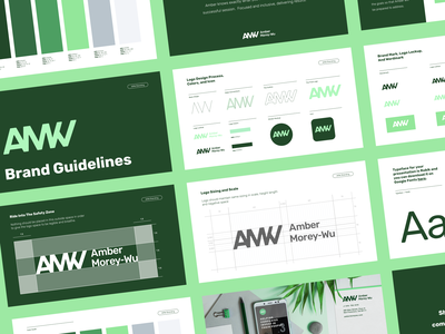 Amber Morey-Wu Brand Guidelines brand guidelines brand