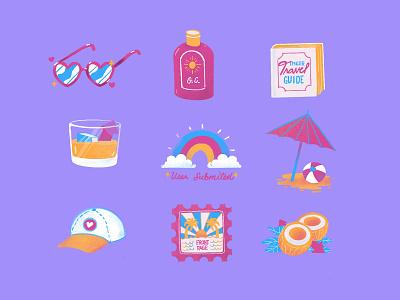 Imgur Summer Break procreate summer holidays
