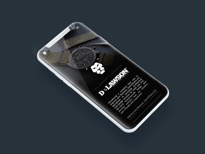 Delawsons Phone App