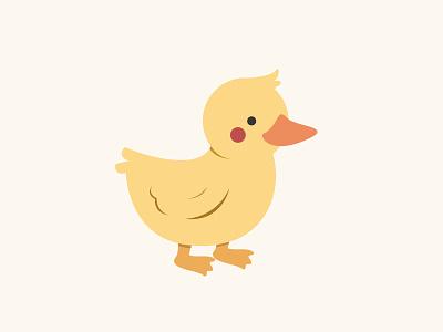 Darling Duckling illustration vector duckling duck