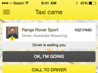 Taxi order