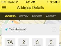 Taxi address