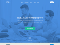 Landing page for recruiter tool v2